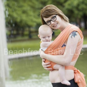 One Size Beachfront Baby Wrap