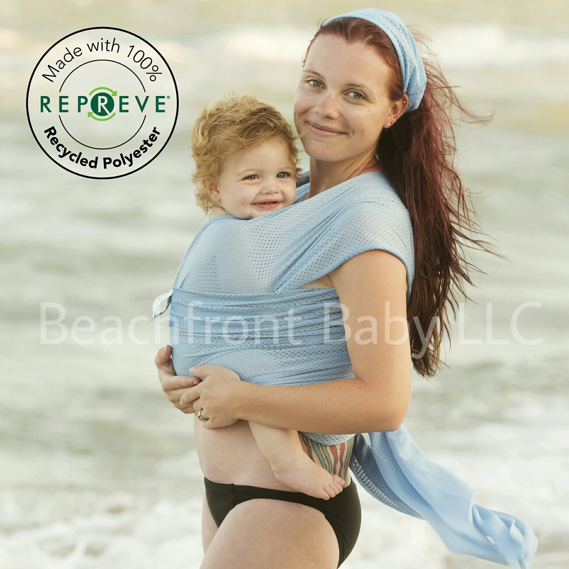 Recycled Beachfront Baby Wrap Made With Repreve